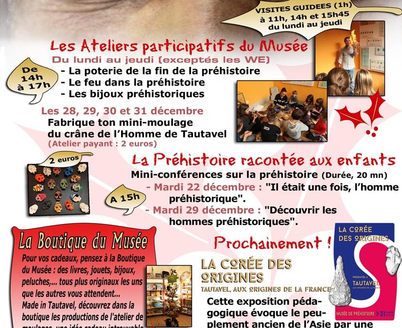 Noël au Musée de Préhistoire de Tautavel