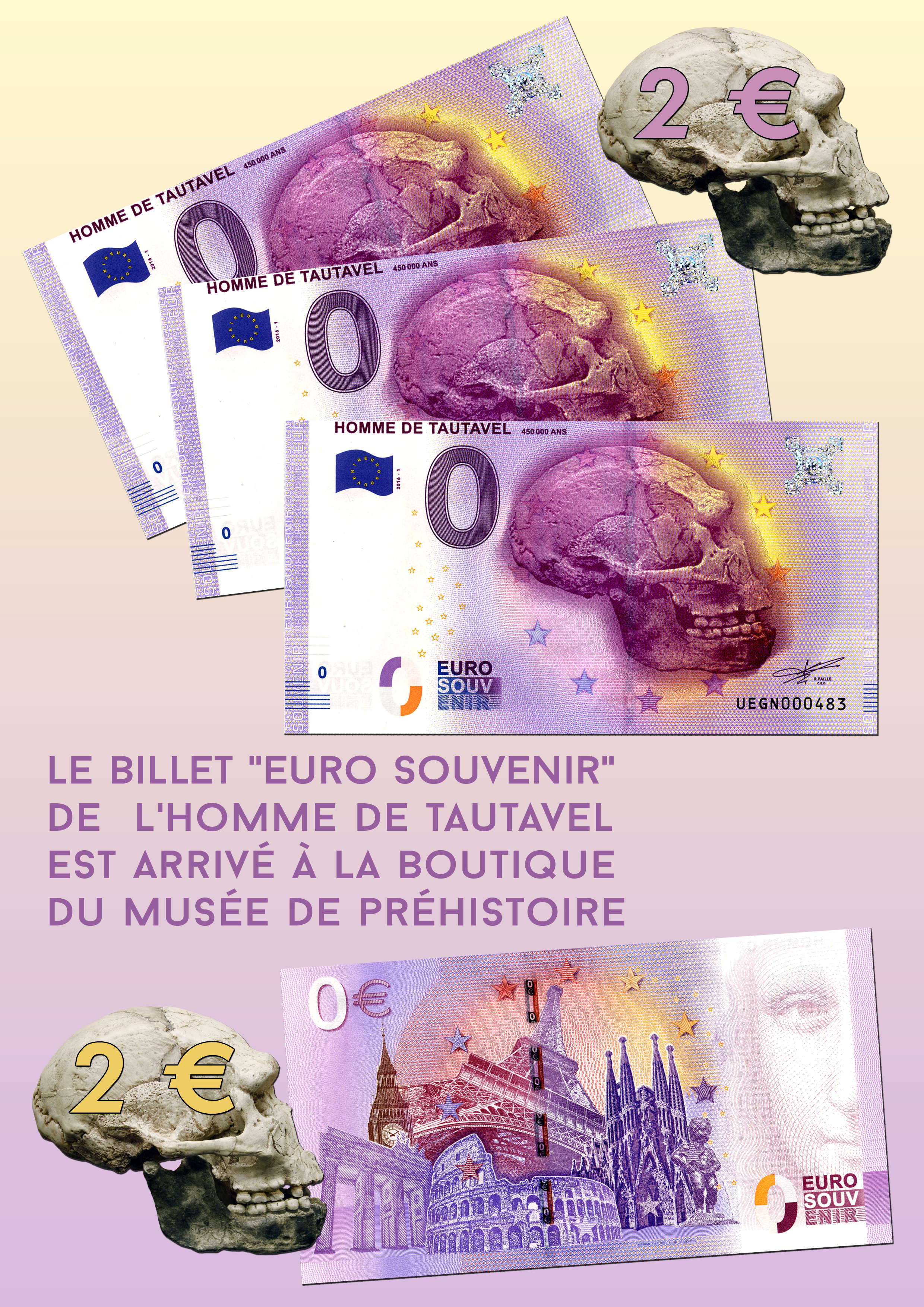 Billet Euro-Souvenir