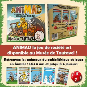 Animad jeu de cartes de Tautavel