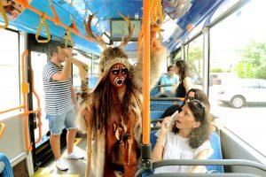 Journées du Patrimoine. L'Homme de Tautavel Reprend le bus.