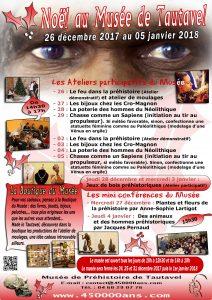 Vacances Noel 2017 Musée de Préhistoire de Tautavel