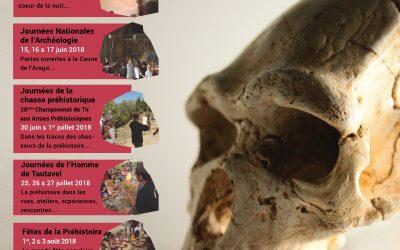 Programme des Manifestations Culturelles 2018 du Musée de Préhistoire…