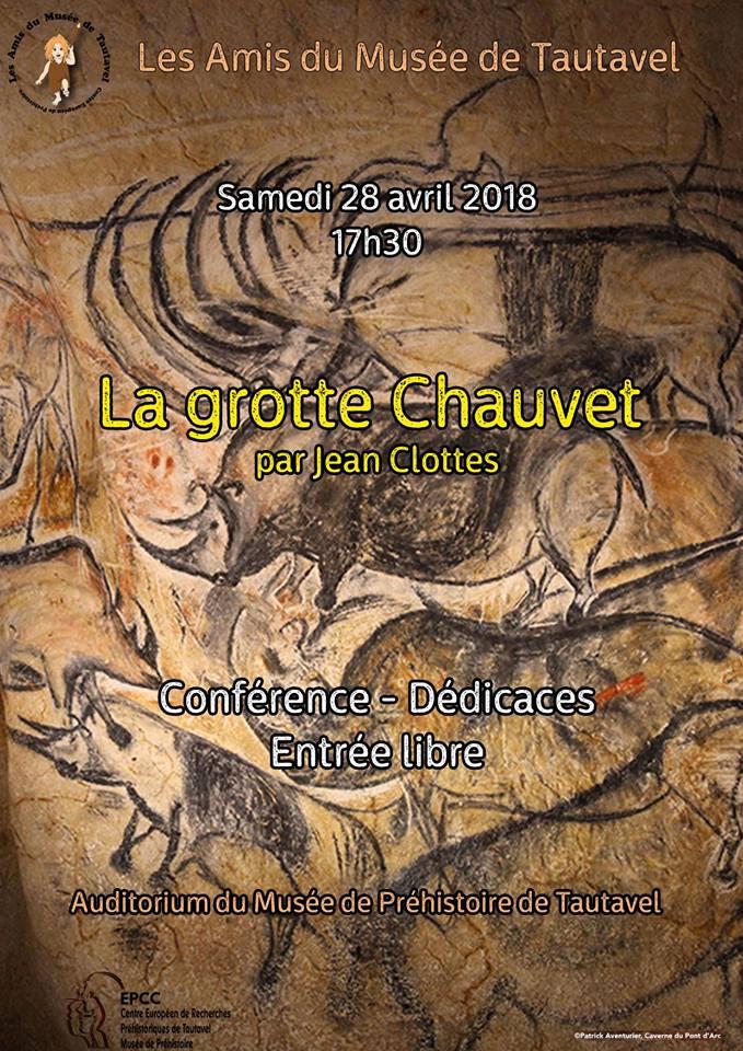 Conférence la grotte Chauvet avril 2018