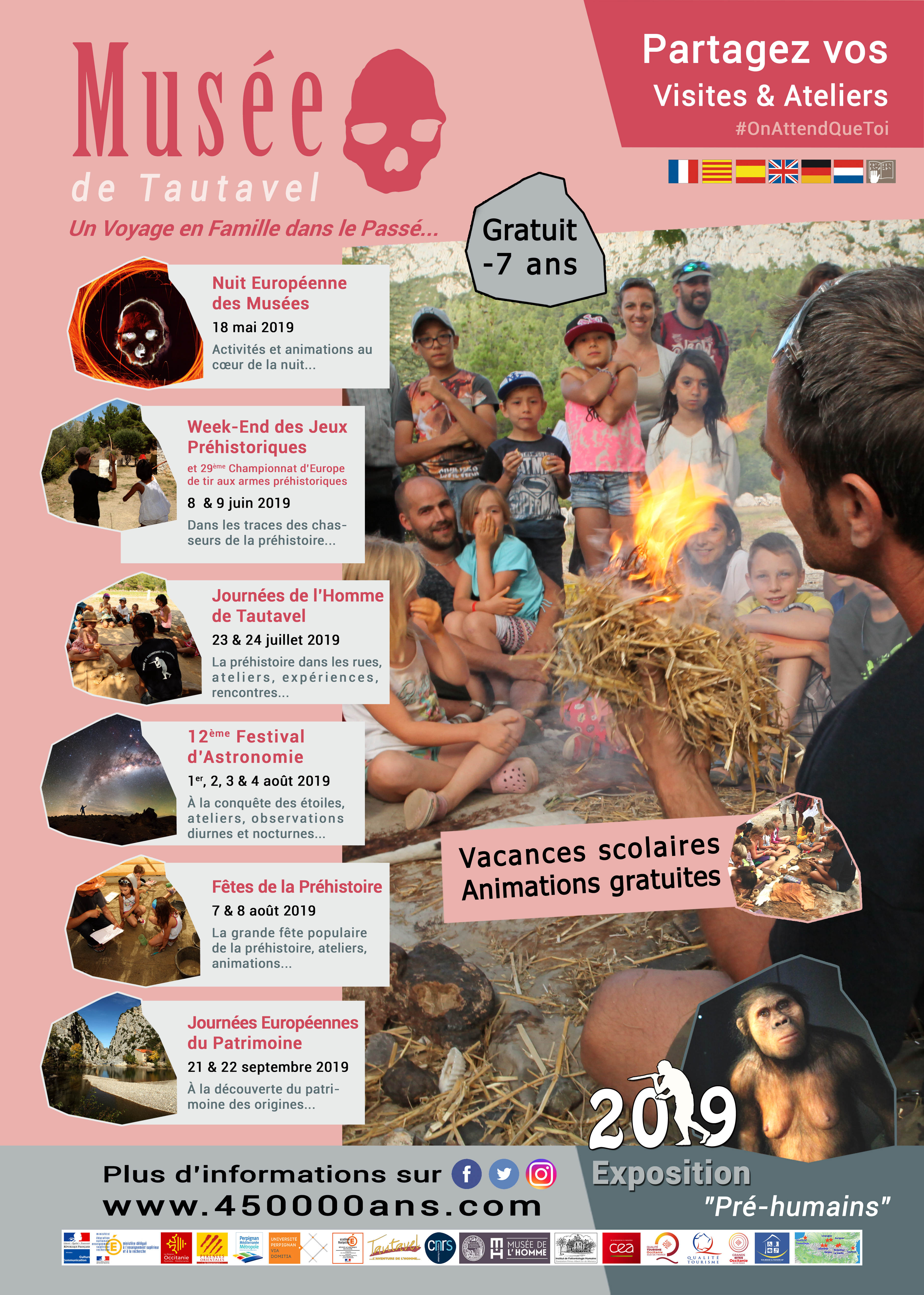 Musée de Préhistoire de Tautavel 2019 évènements culturels