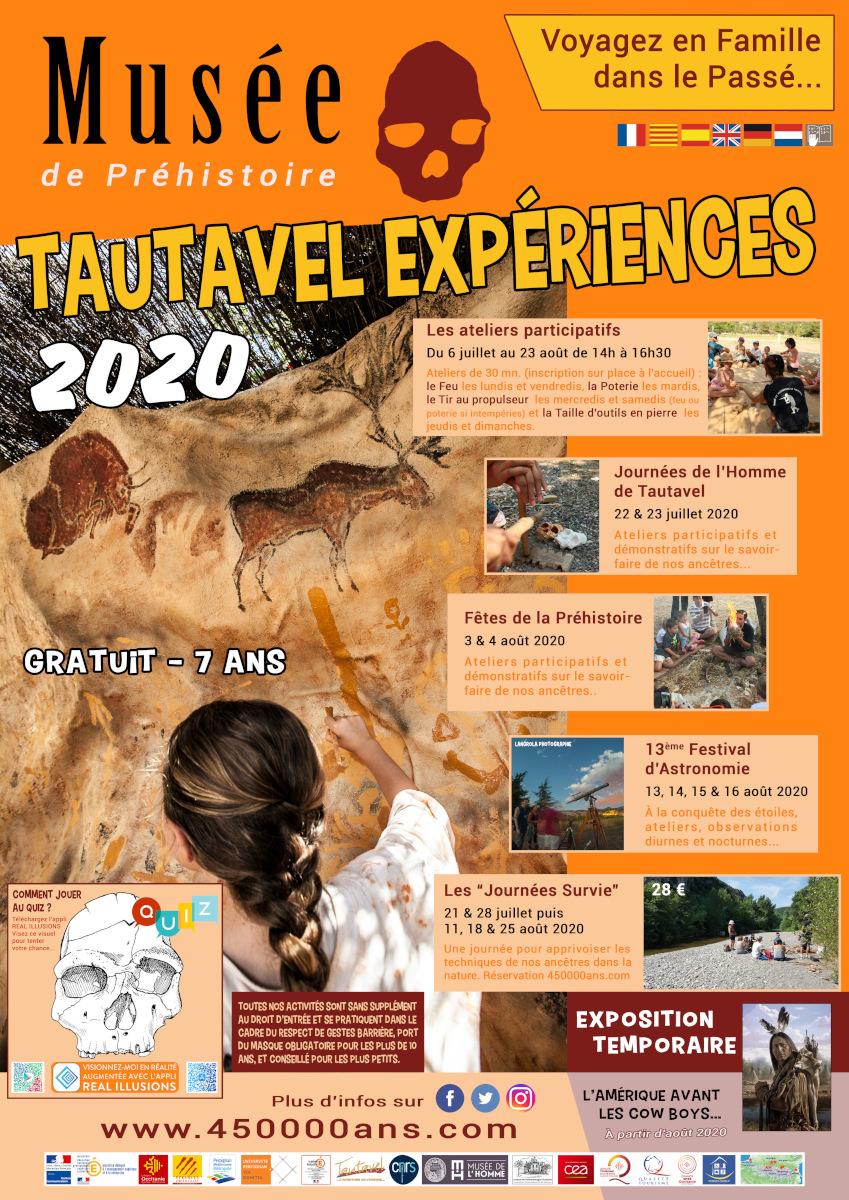 Tautavel expérience 2020