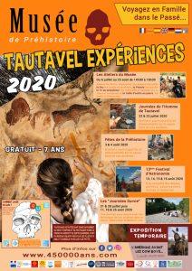 Programme musée préhistoire été 2020 Tautavel expériences