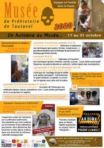 Vacances automne 2020 musée tautavel web