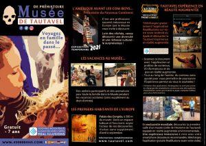 Plaquette musée tautavel 2021